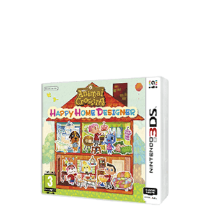 Animal Crossing: Happy Home Designer + 1 Carta