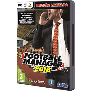 Football Manager 2016 Edición Limitada