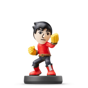 Figura Amiibo Smash Mii Fighter Karateka Mii