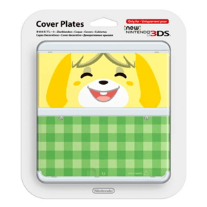 New 3DS Carcasa: Animal Crossing New Leaf Canela
