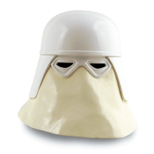 Casco Star Wars: Snow Trooper