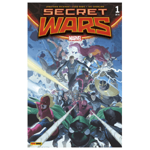 Comic Marvel Secret Wars nº 1