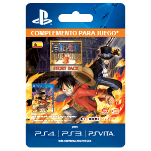 One Piece Pirate Warriors 3 Story Pack PS4/PS3/PSV