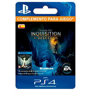 Dragon Age:Inquisition- The Descent PS4