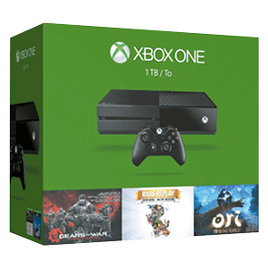 Xbox One 1TB + Rare Replay + Ori and The Blind Forest + Gears of War