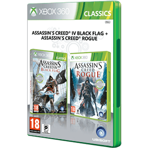 Pack Assassin's Creed IV Black Flag + Assassin´s Creed Rogue