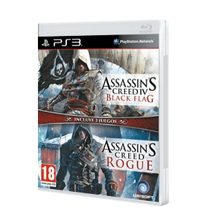Pack Assassin's Creed IV Black Flag + Assassin's Creed Rogue