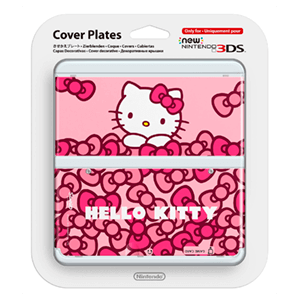 New 3DS Carcasa: Hello Kitty