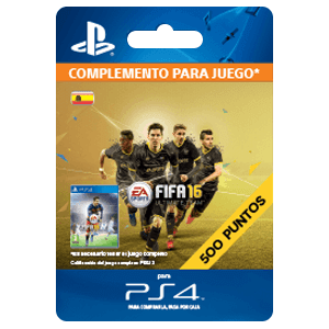 x 500 FIFA 16 Points PS4