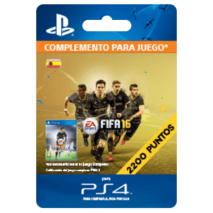 x 2200 FIFA 16 Points PS4