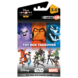 Disney Infinity 3.0 Toy Box Game Piece Takeover