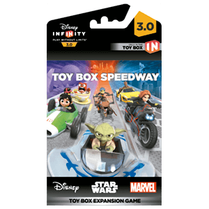 Disney Infinity 3.0 Toy Box Game Piece Speedway