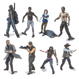 Minifigura The Walking Dead Surtido