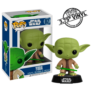 Figura Pop Star Wars Yoda