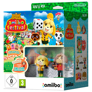 Animal Crossing Amiibo Festival: 2 Figuras + 3 Tarjetas