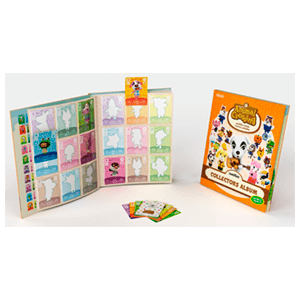 Pack 3 Tarjetas amiibo Animal Crossing HHD + Album - Serie 2