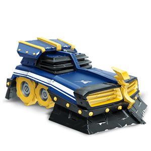 Figura Skylanders Superchargers Vehiculo Shield Striker