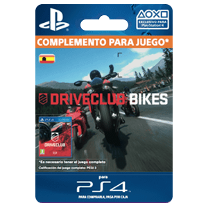 Driveclub Bikes Expansion PS4