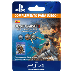Just Cause 3 - Tierra, mar y aire. Expansion Pass PS4