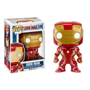 Figura Pop Marvel Civil War: Iron Man