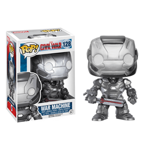 Figura Pop Marvel Civil War: War Machine