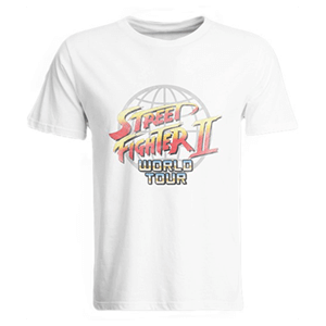 Camiseta Street Fighter II World Tour Talla L