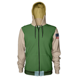 Sudadera Street Fighter V: Guile Talla M