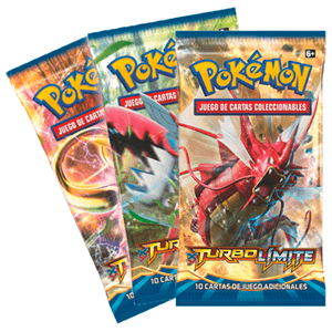 Sobre 10 Cartas Pokemon Turbo Límite XY9