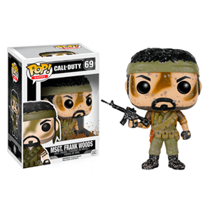 Figura Pop Call of Duty: Sargento Frank Woods