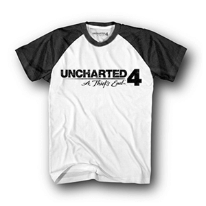 Camiseta Uncharted 4 Logo Talla XL