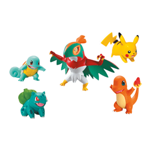 Pack de Figuras Pokemon Battle Surtido