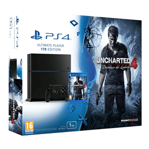 Playstation 4 1Tb + Uncharted 4