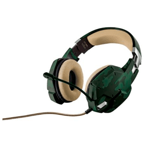 Trust GXT 322C Verde Camouflage - Auricular Gaming