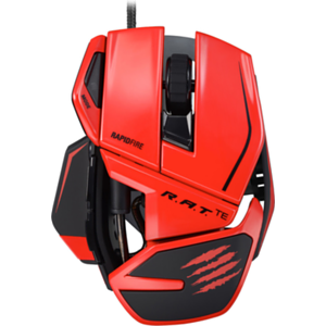 Mad Catz R.A.T.TE Mouse Rojo