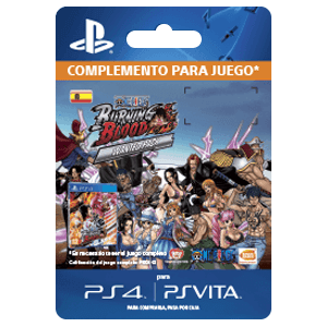 One Piece Burning Blood - Wanted Pack PS4 - PSV