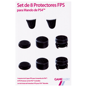 Set de 8 Protectores FPS para mando PS4 GAMEware