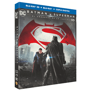 Batman vs Superman: El Amanecer De La Justicia BD 3D