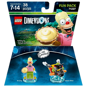 LEGO Dimensions Fun Pack: Los Simpson Krusty