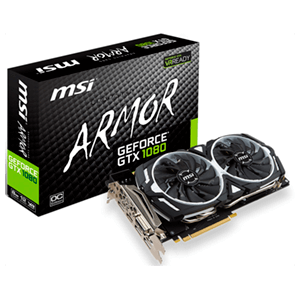 MSI GeForce GTX 1080 Armor OC 8GB