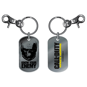 Llavero Dog Tag COD IW Know your Enemy