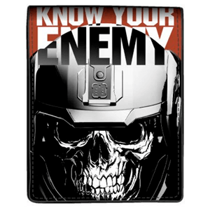 Cartera COD IW Know your Enemy Negra