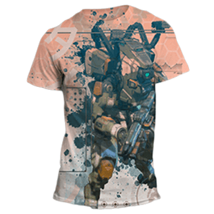Camiseta Titanfall 2 Sublimation Talla M