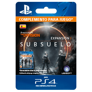 The Division: Subsuelo PS4