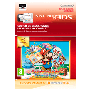Paper Mario: Sticker Star - 3DS