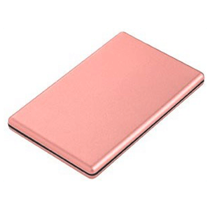 Power Bank Slim Khora 2300mAh Rosa Dorado