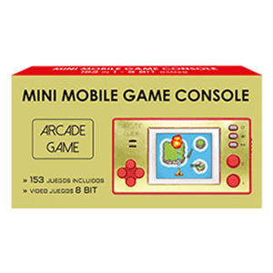 Mini Mobile Game Console 8 Bit (153 juegos)