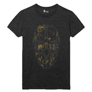 Camiseta Dishonored 2 Máscara de Corvo Talla M