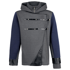 Sudadera Dishonored 2 Corvo Stealth Talla XL