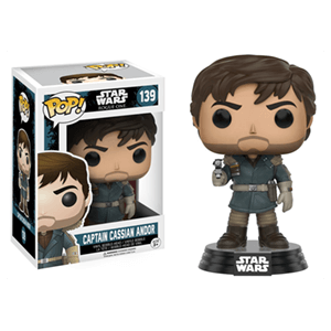Figura Pop Star Wars Rogue One: Capitán Cassio Andor