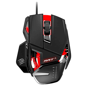 Mad Catz RAT4 Optical Gaming Mouse